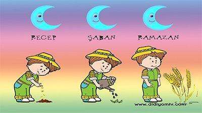 üç aylar recep şaban ramazan