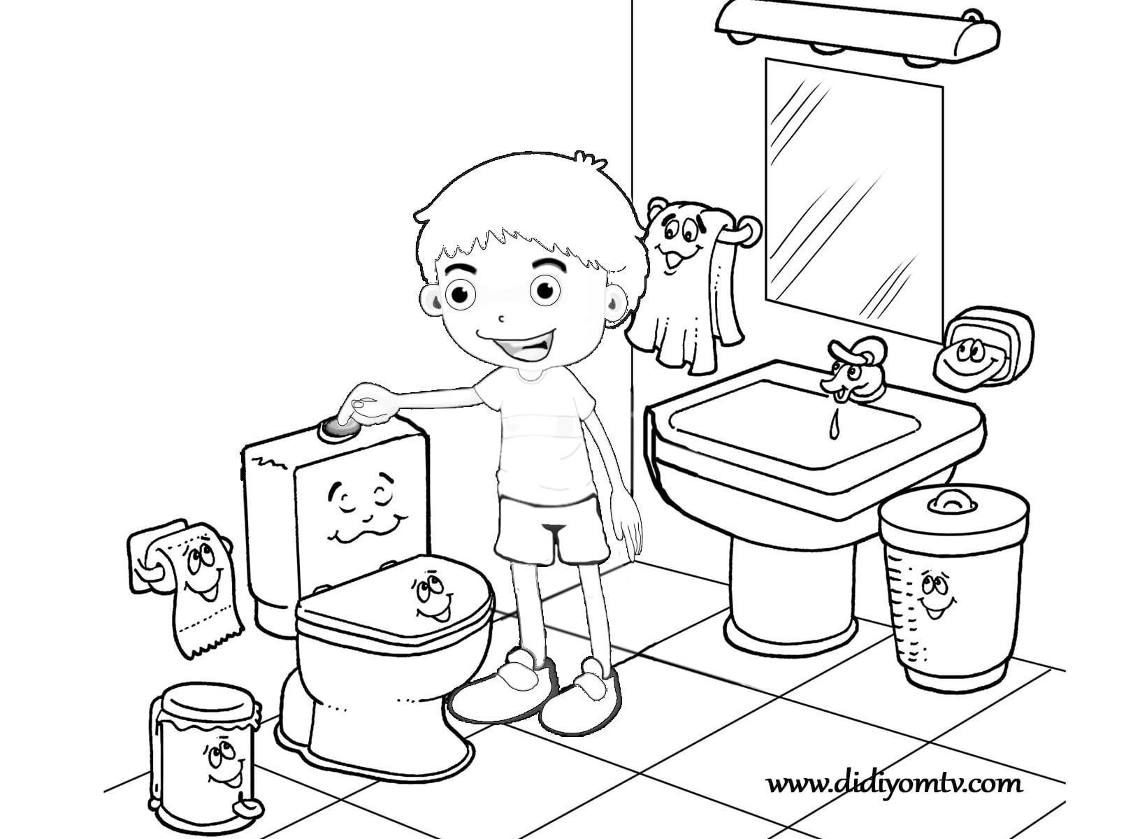 Bayrak Resmi Boyama Okul Oncesi Coloring Free To Print