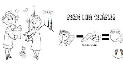 Zekat Boyama Sayfaları ön resim