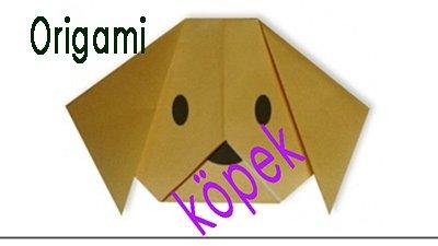 Origami Köpek Yapımı - Origami Köpek