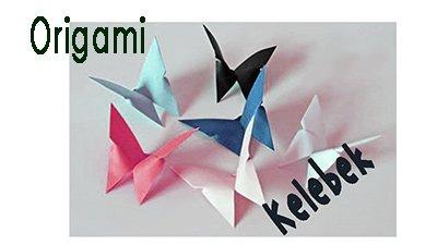 Origami Kelebek Yapımı – Origami Kelebek