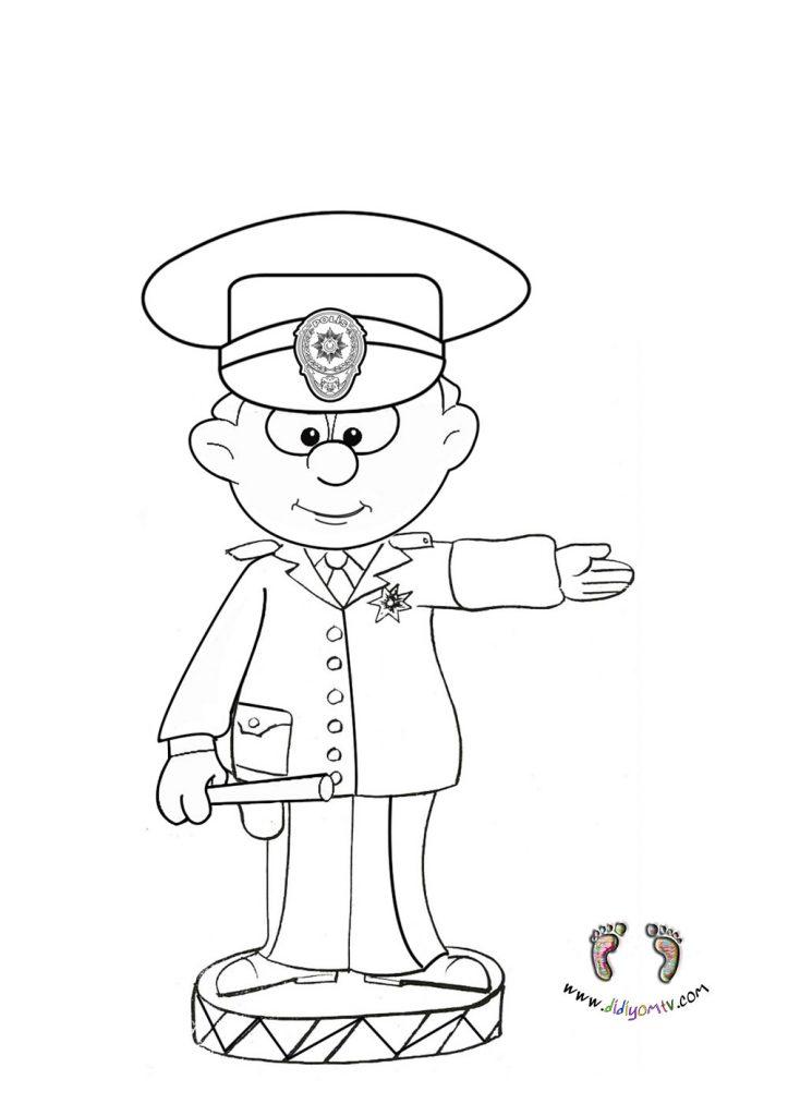 polis boyama