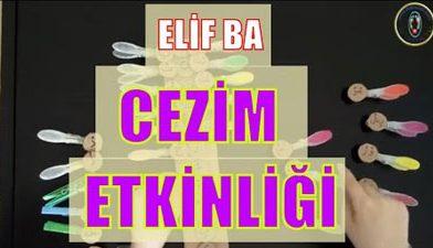 Cezim Etkinliği – Elif Ba – Elifba Cezim Alıştırması