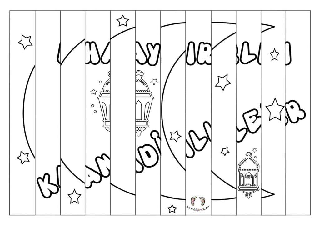 Kandil Kartı Hazırlama - Agamograph Kandil Kartı