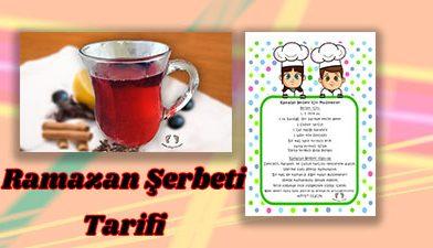 Ramazan Şerbeti Tarifi – Ramazan Etkinliği