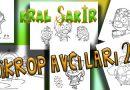 Kral Şakir Boya Mikrop Avcıları Boyama Sayfası 2