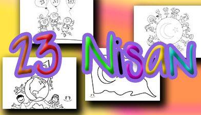 23 Nisan Boyama Sayfaları – 23 nisan boyama etkinlikleri