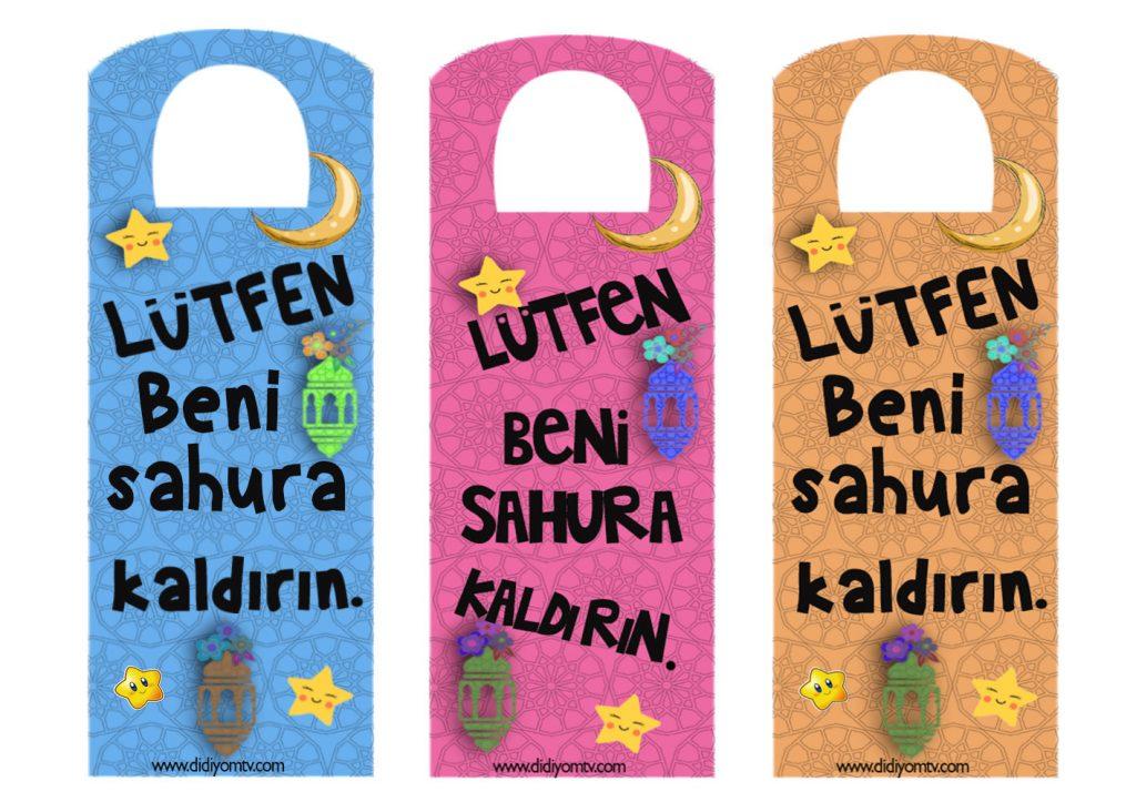 Ramazan Etkinliği - Beni Sahura Kaldır - Okul Öncesi Etkinlik