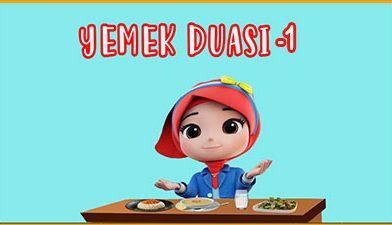 Yemek Duası 1 – Yemek Duası Türkçe – Yemeğimi yemeden…