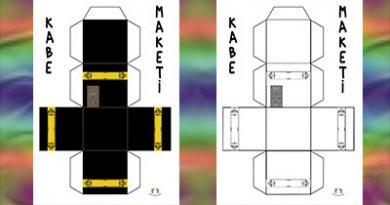 Kabe Maketi Yapımı- Kabe kalıbı – 3d Kabe Şablonu