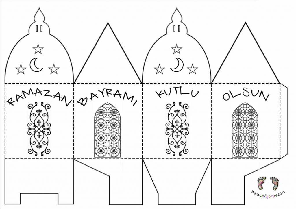 Ramazan Bayramı Etkinlikleri - El Yapımı Hediye Kutusu